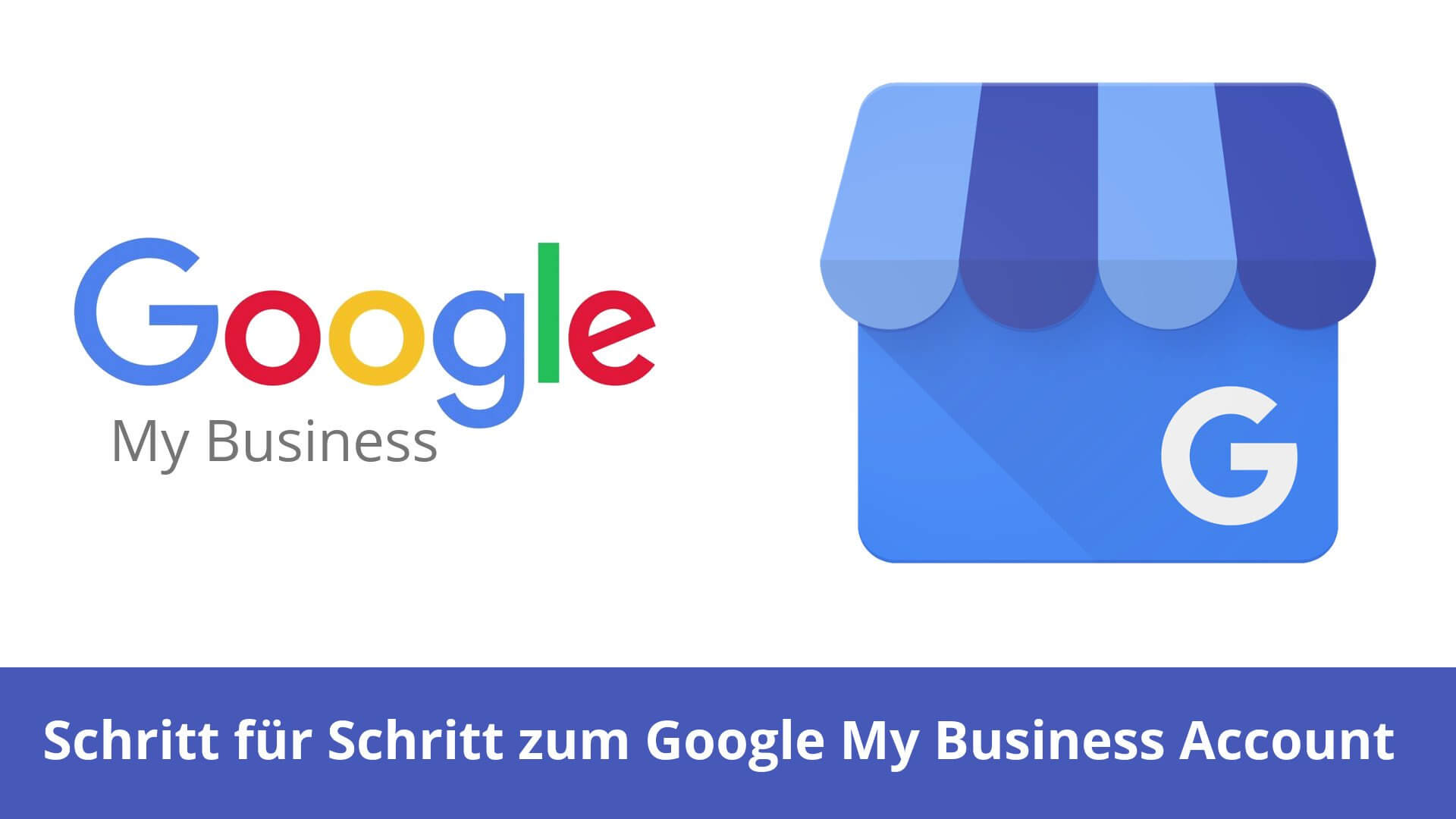 Das icon des Google MyBusiness Services