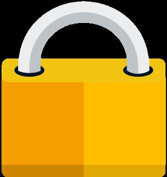 Icon eines Vorhängeschlosses